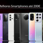 Top 10 melhores smartphones de 2021 até 200€